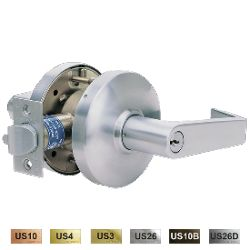 Cal-Royal GENESYS Series Heavy Duty Cylindrical Leversets with Clutch