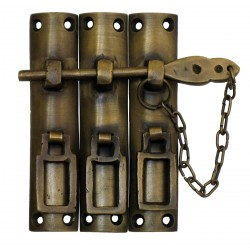 Gado Gado HLA7014 Three-Piece Lock w/ Chain