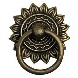 Gado Gado HRP6026 Ring Pull w/ Sunburst Backplate