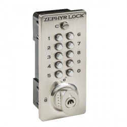 Zephyr Lock 3510 Mechanical Push Button Locker Lock