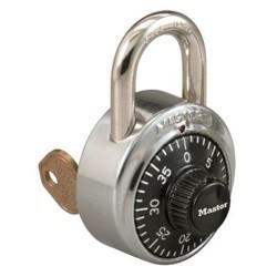 Master Lock 1525 Combination Padlock w/ Key Control