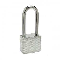 Zephyr 18050 Steel Lamanated Long Shackle Combo / Keyed Padlock