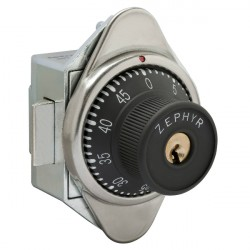 Zephyr 1954/1955 Built In Combination Lock, w/ Spring Latch for Doors