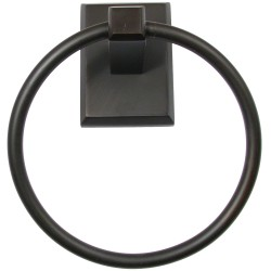 Rustic 8786ORB Utica Oil Rubbed Bronze Towel Ring