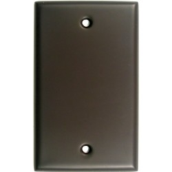 Rusticware 780 Single Blank Switchplate