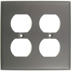 Rusticware 786 Double Recep Switchplate