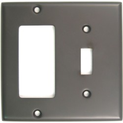 Rusticware 788 Double Rocker/Switch Switchplate