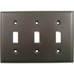 Rusticware 789 Triple Switch Switchplate