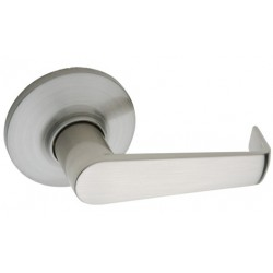 Copper Creek AL181 Satin Stainless Avery Lever Interior Assembly for Front Door Handleset