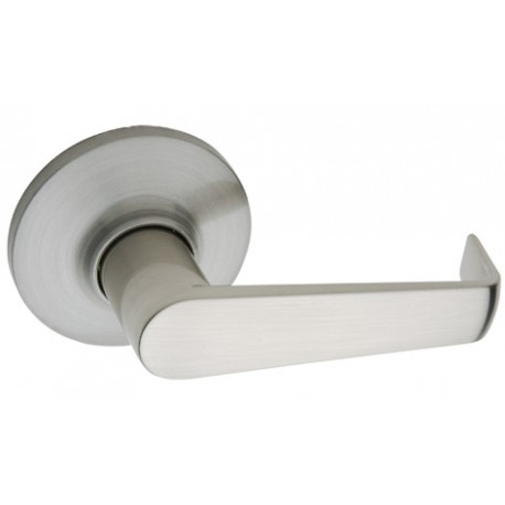 Copper Creek AL189 Satin Stainless Avery Lever Dummy Interior Assembly for Front Door Handleset