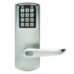 Kaba E-Plex 2000 Series Electronic Keyless Pushbutton Access Door Lock w/ Lever