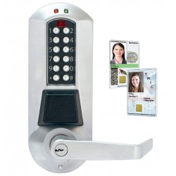 Kaba E-Plex 5800 Series Electronic Pushbutton Lock