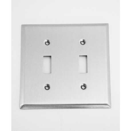 A'dor Traditional Double Switch Switchplate