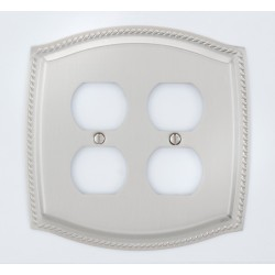 A'dor Rope Double Outlet Switchplate