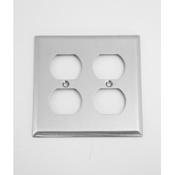 A'dor Traditional Double Outlet Switchplate