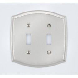 A'dor Colonial Double Switch Switchplate