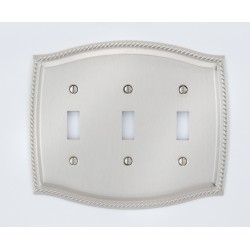 A'dor Rope Triple Switch Switchplate