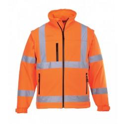 Portwest US428 Hi-Vis Softshell Jacket