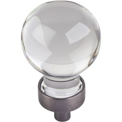 "Harlow 1 1/16"" Glass Sphere Cabinet Knob"