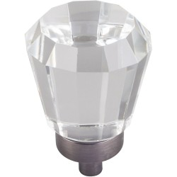 """Harlow 1"""" Glass Tapered Cabinet Knob"""