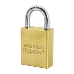A40D American Lock Solid Brass Non-Rekeyable Padlock (Commercial Carded)