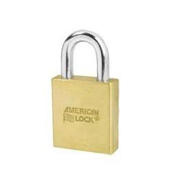 A3700 American Lock Door Key Compatible Solid Brass Padlock