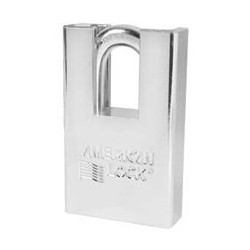 "A6360 American Lock  Rekeyable Shrouded Solid Steel Padlock 2"" (50mm)"