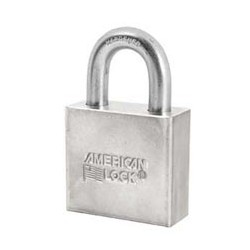 A50D American Lock  Solid Steel Non-Rekeyable Padlocks (Commercial Carded)