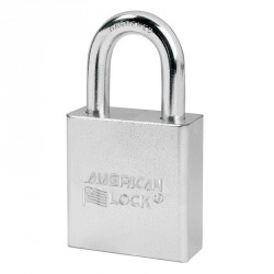 A3200 American Lock Small Format Interchangeable Core Padlock - Solid Steel