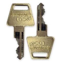 American Lock Cut Key