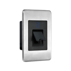ZKAccess FR1500-ID Flush-Mounted Slave Fingerprint Reader