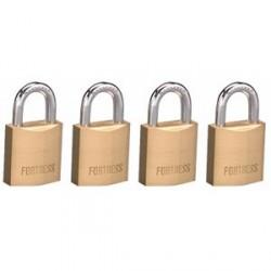 """Master Lock 1820Q  Fortress Series Solid Steel Padlock, 3/4"""""""