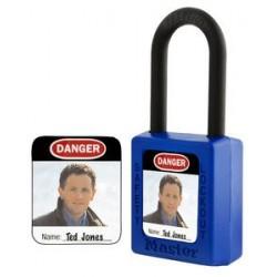 Master Lock S142 Padlock Label for Master 410, 406, S31 and S33 Padlocks