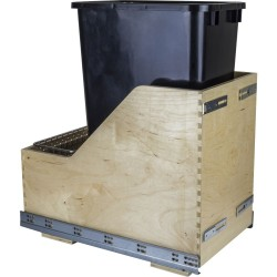 Preassembled 50- Quart Single Pullout Waste Container System (CDM-WBM Series)