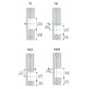 HES 1600 Faceplates & Specialty Option Kits