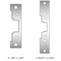 HES 7000-110 Replacement Strike Plate for 7000 Series Electric Strikes