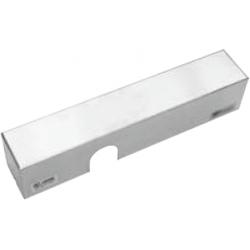 Cal-Royal 900SMET 900 Series Door Closer Slim Metal Cover - Stainless Steel