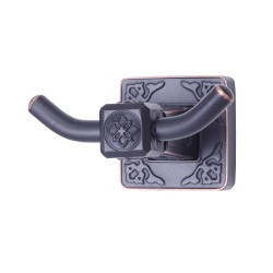 Dyconn Faucet BRNHK-ORB Reno Series Euro Bathrobe Hook, Oil Rubbed Bronze