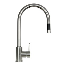 BOANN BNYKF-C20S Flor 16.7-Inch 304 Stainless Steel Pull- Out Kitchen Faucet