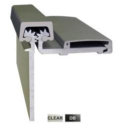 Cal-Royal CRHD78 Geared Aluminum Continuous Half Surface Hinges Series