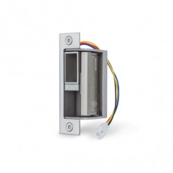 Von Duprin 6400 Series Modular Electric Strike for mortise or cylindrical locks in Satin Stainless Steel