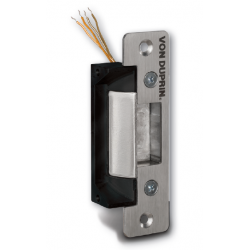 Von Duprin 4200 Series Electric Strikes for cylindrical and deadlatch locks in Satin Stainless Steel