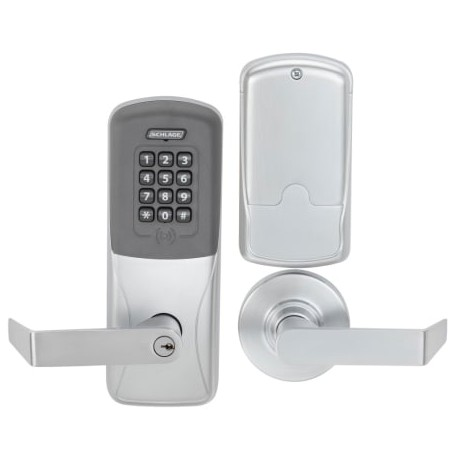 Schlage Commercial CO-200 Rights on Lock - Cylindrical Electronic Access Control Keypad Programmable Lock w/ Schlage C Keyway