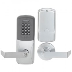 Schlage Commercial CO-200 Series Electronic Access Control CO-200-MS-70 / Keypad Programmable Card Lock with Rhodes Le