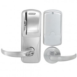 Schlage Commercial CO-250 Rights on Card - Cylindrical Electronic Access Control Keypad Programmable Lock