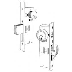 Adams Rite MS1950 Series Deadlock Maximum Security for Single Leaf Narrow Stile Door