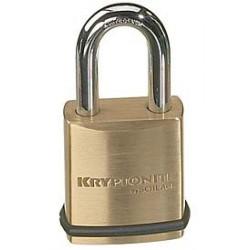 "Schlage KS23 Portable Security Brass Padlock, 1-25/32"""