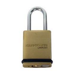"Schlage KS43 Portable Security Brass Padlock, 1-15/16"""