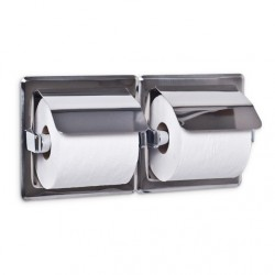 AJW UX75 Double Toilet Tissue Paper Dispenser