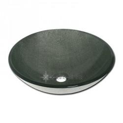 Polaris P716 Silver Mesh Glass Vessel Sink